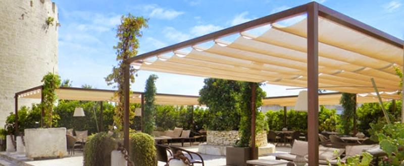 Couverture Standard - Couverture de terrasse à toile manuel ou motorisé