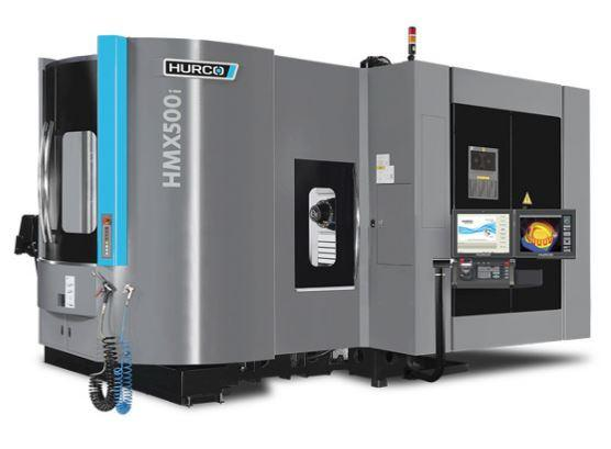 Horizontal-4-Axis-Machining-Center - HMX 500i SK40 - Power and unbeatable value - the ideal machine for medium sized 4-axis parts