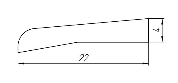 Aluminum Profile For Car And Rail Car Building Ат-1227 - Aluminum profile for mechanical engineering
