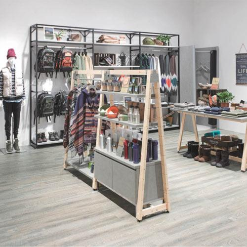 Cement Delta - Display Shelving - Display furniture for sports shops