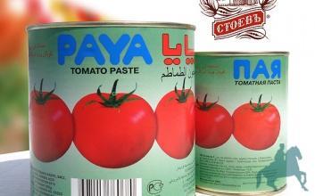 Томатная паста - томатная паста, упаковка - металл и пластик.