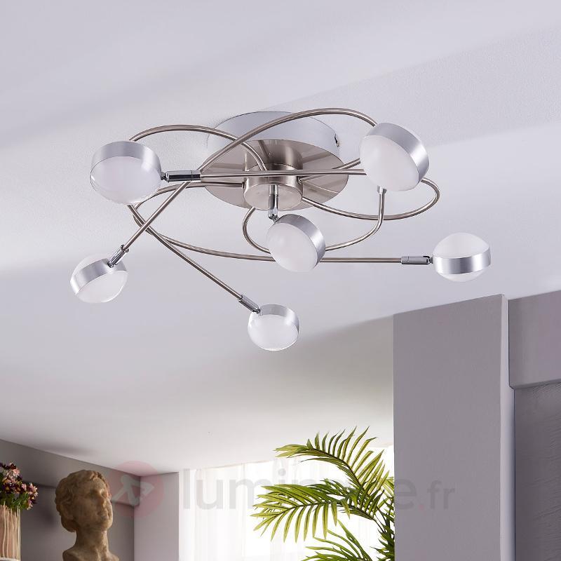 Marlon - plafonnier LED avec une bonne luminosité - Plafonniers LED
