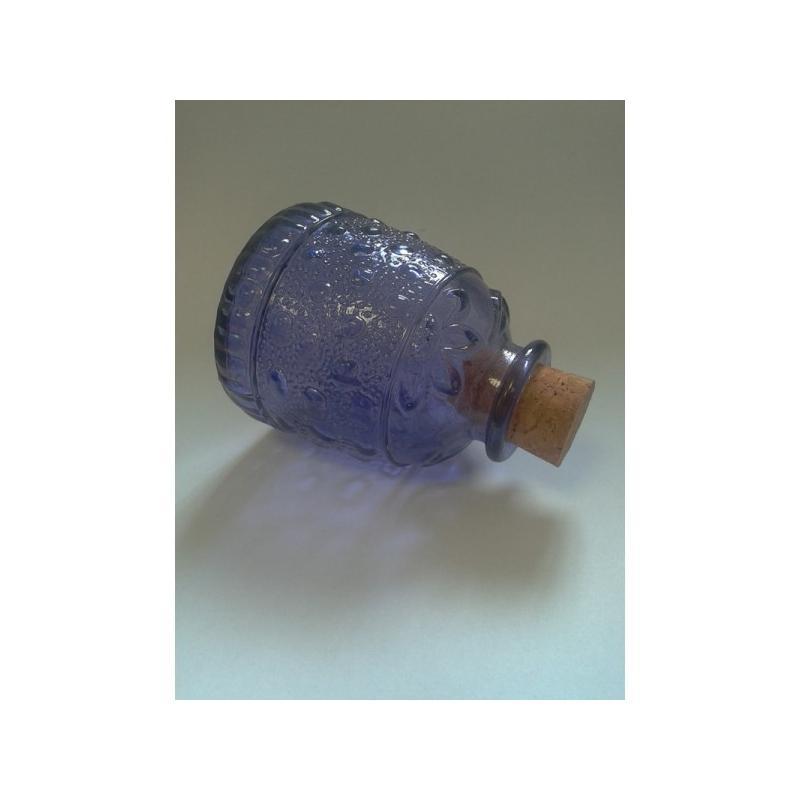 6 Mini bocaux Bizantina MIGUEL ANGEL BLEU en verre 100% recyclé, capacité 150 ml - Mini bocaux
