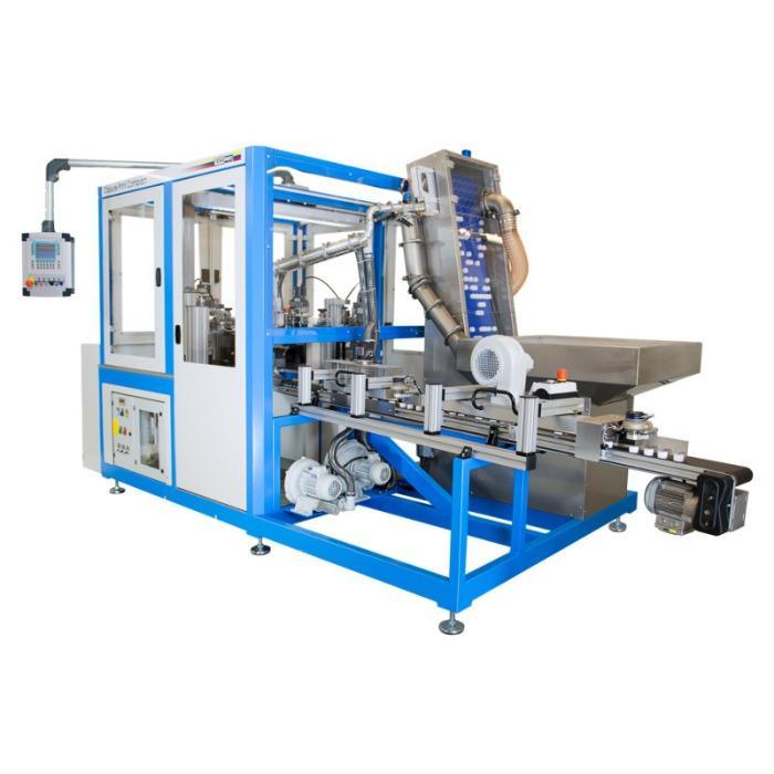 CLOSURE PRINT COMPACT Máquina de tampografía - Máquina de tampografía rotativa para la impresión de tapas.