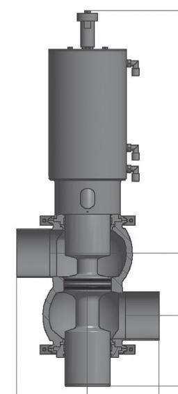 Mix proof valves