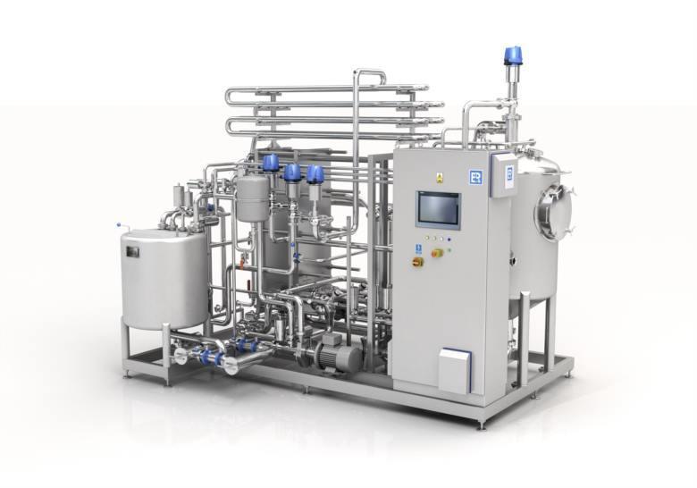 Pasteryzator | Systemy pasteryzacji - stosowane do pasteryzacji i sterylizacji soków i koncentratów.