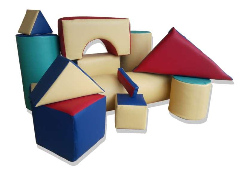 Foam and leather block - Schools and kindergartens