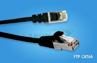 F/UTP 4Pairs Cat6a patch cord - F/UTP CAT6A