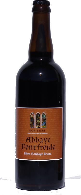 Bière brune de l'Abbaye de Fontfroide 75CL