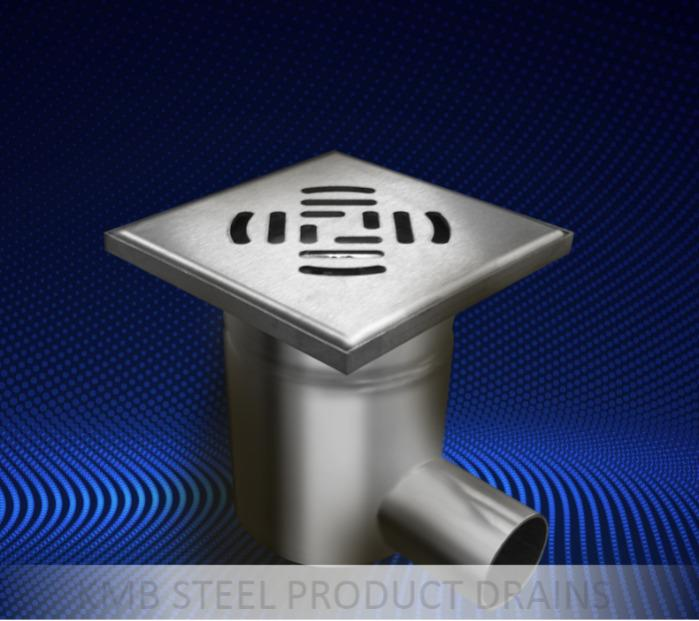 مداخل الأرضية - حلول فردية من الفولاذ المقاوم للصدأ