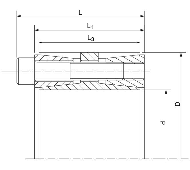 Locking Assembly for bending loads - RfN 7015.0