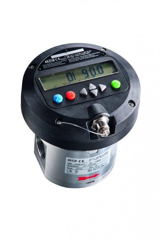FLUX Ovalradzähler FMO 110 - Durchflussmesser für 5,7 - 170 l/min