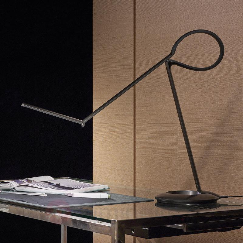 Lampe de table LED design polyvalente Compasso - Lampes de bureau LED