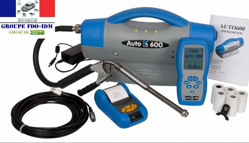 Opacimètre pour véhicule Diesel KANE AUTO600 - Valise diagnostic