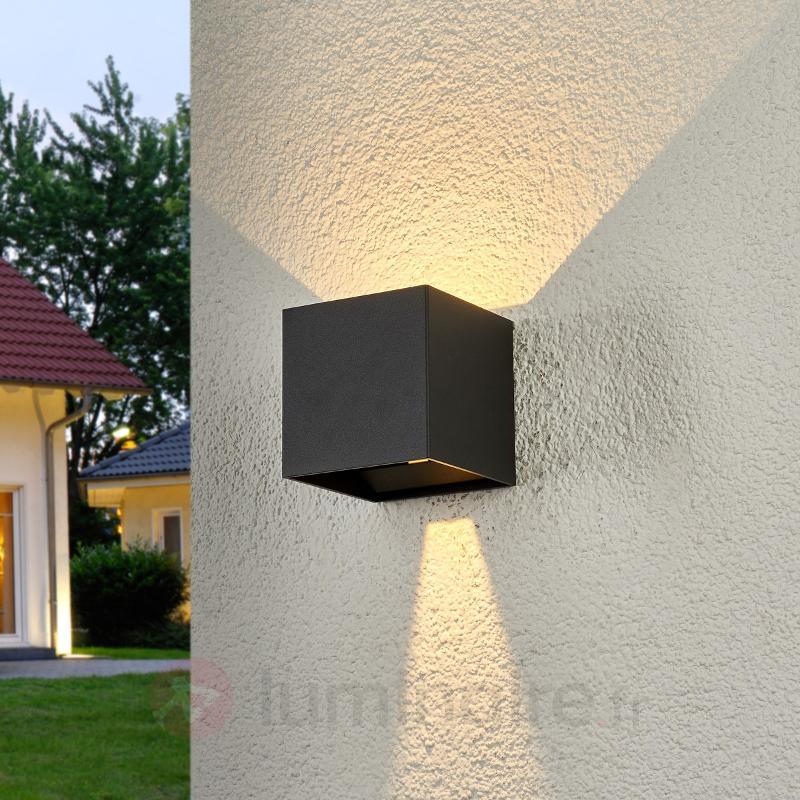 Applique d'extérieur LED en forme de cube Ella - Appliques d'extérieur LED