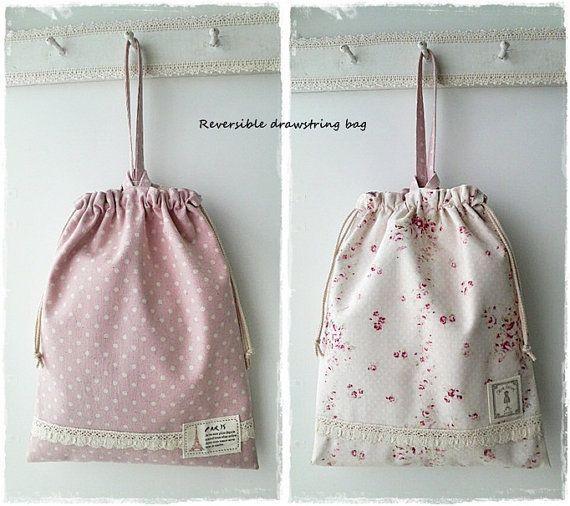 Printed Cotton Backpack Bag - Cotton Drawstring Backpack Bags, Cotton Backpack Bag