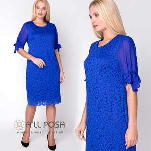 Нарядное платье Джамала - ТМ All Posa-производитель женской одежды. Опт от 3 товаров, дропшиппинг