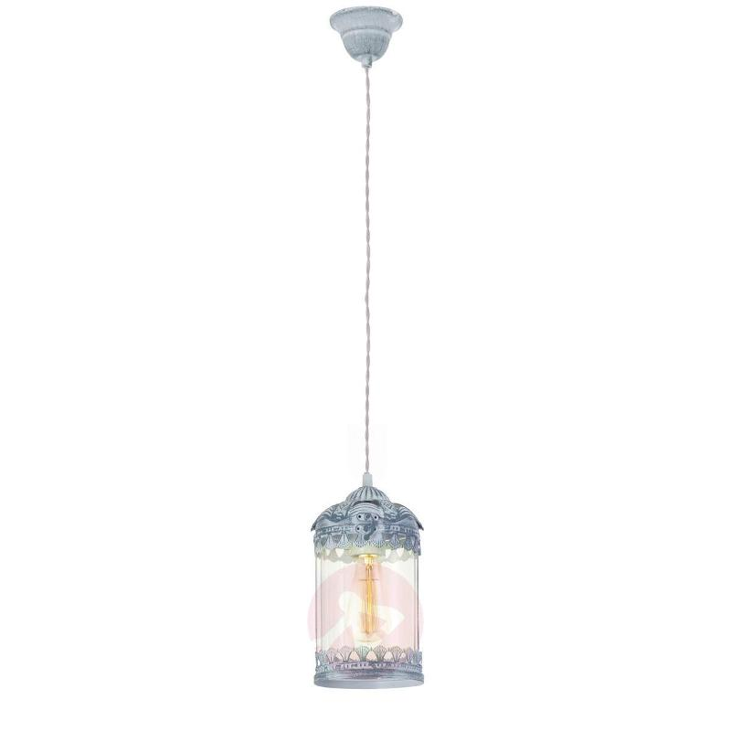 Vintage 2 Pendant Lamp in Grey-blue - Pendant Lighting