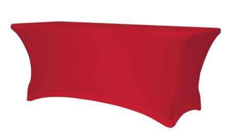 Housse Stretch Pour Table Rectangle 180 - Tables De Collectivités