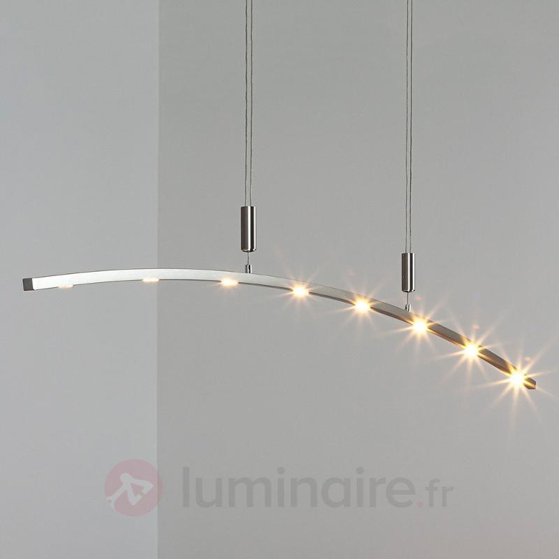 Suspension LED Falo à hauteur réglable 160 cm - Suspensions LED