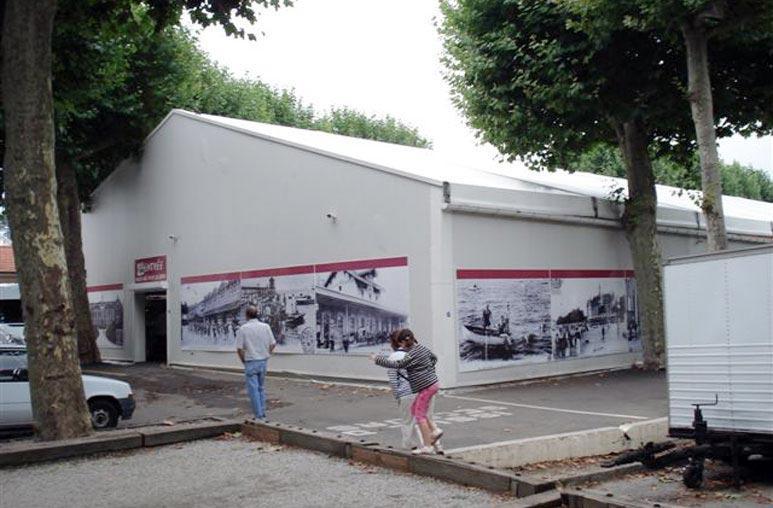 Couverture de marchés - Système de construction - Bâtiments sportifs et Espaces Loisirs