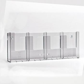 Standaard displays voor documenten - Taymar® gamma: brochurehouder: 4W104X