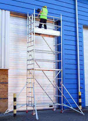 Alto HD Ladderspan Tower - The strongest, most capable, most durable access tower available