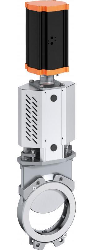 Válvula de guillotina tipo MV - Válvula de compuerta de cuchilla diseñada para una amplia gama de aplicaciones.