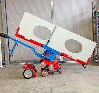 kangaroo - carrello elettrico (Patented Samec) - Carrello - Saliscale elettrico con trazione a tricipede