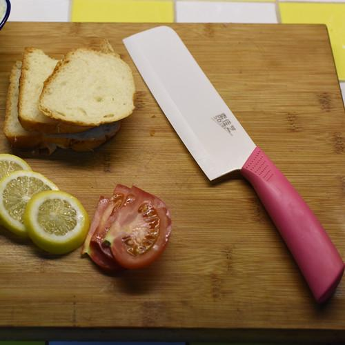 Soft grip handle ceramic knife - Wholesale Coloured Best Chef Knife