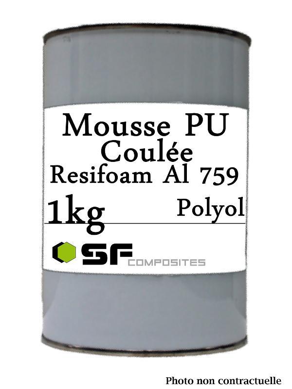 MOUSSE PU COULEE  - AL 759 EN 1KG