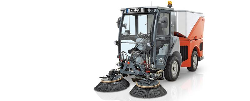 Citymaster 1650 - Multifunctional outdoor cleaning machine in the 3.5-t class