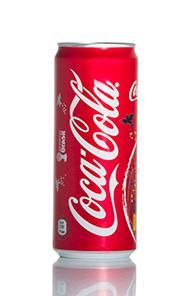 Coca Cola Original Taste Lattina Sleek 24 x 33 cl - Vino e bevande - Bevande