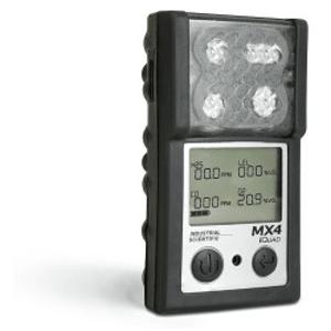 Détecteur portable 4 gaz (CO, O2, H2S, NO2 ) - ainsi que les gaz explosifs.