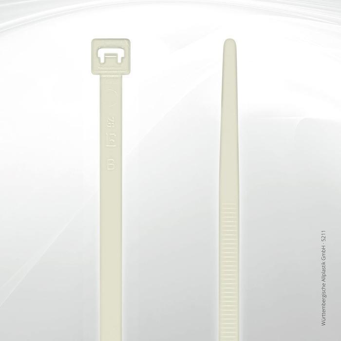 Allplastik-Kabelbinder® cable ties, standard - 5211 (natural)
