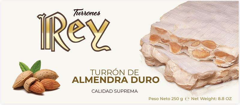 TURRÓN DE ALMENDRA DURO - 250GR CALIDAD SUPREMA