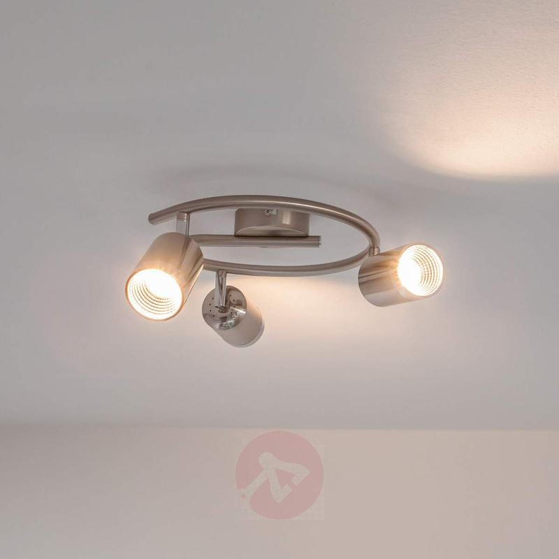 Jarne round ceiling spotlight with LEDs - Ceiling Lights