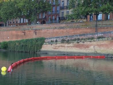 Barrage Flottant Anti Pollution 25x45 - BARC 2545R-Barrage flottant antipollution