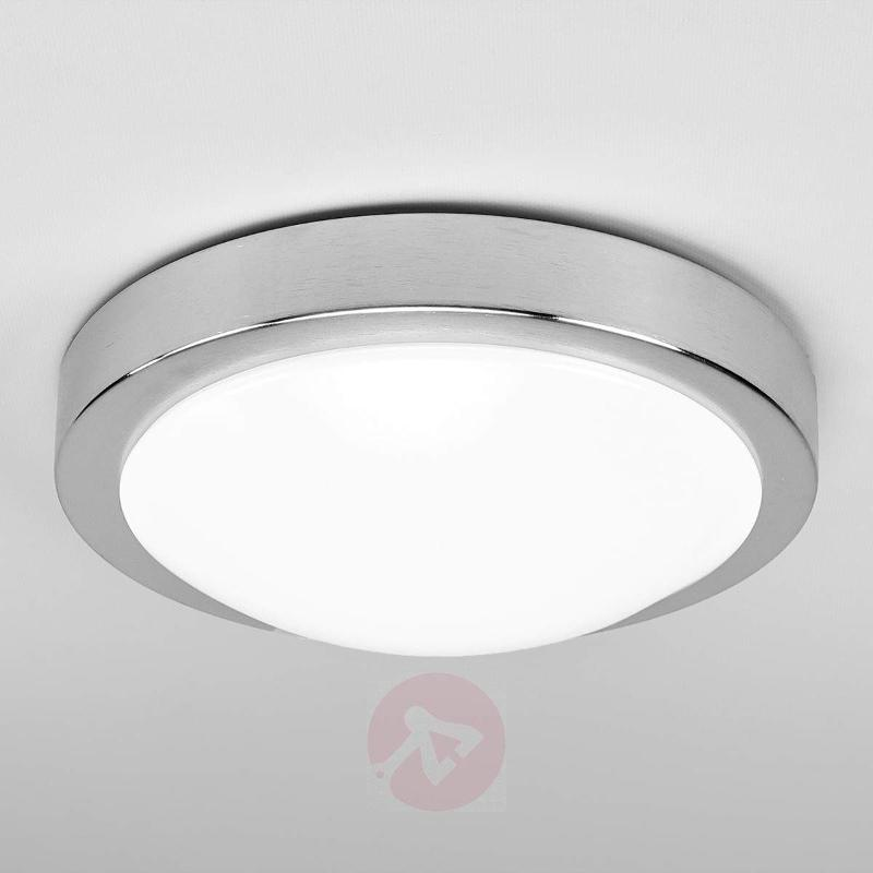 Aras aluminium LED ceiling lamp with sensor - Ceiling Lights with Sensor
