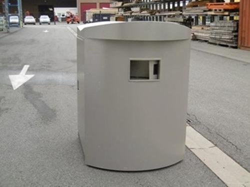 Container zur Kleiderwiederverwertung