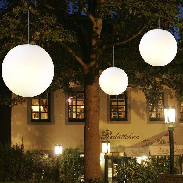 Suspension Snowball blanche pour l'extérieur - Lampes décoratives d'extérieur