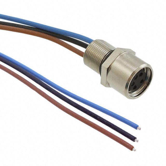 CABLE PNL MNT 3POS SKT-WIRE .5M - Phoenix Contact 1500350