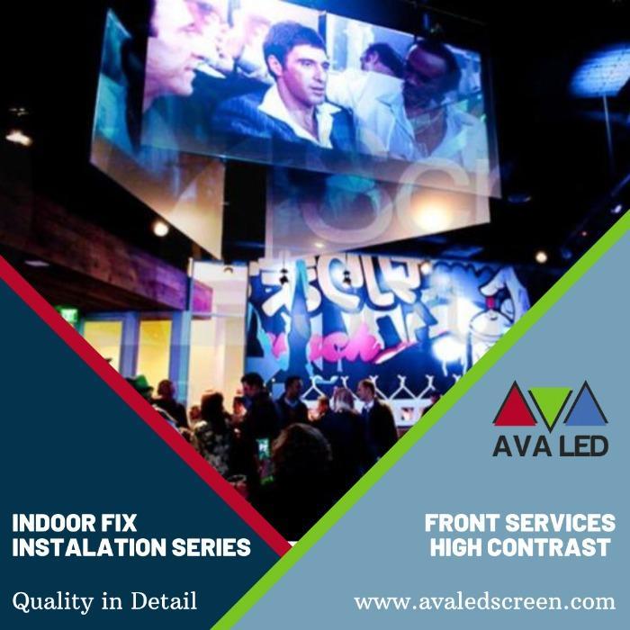 Club'ler için Led Ekranlar - AVA  LED Mini Pixel Led Ekranlar