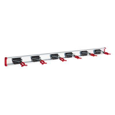 Bruns-Gerätehalter-Set SB 6.10 A - 6 X Bruns-Gerätehalter mit 1,0m Führungsschiene