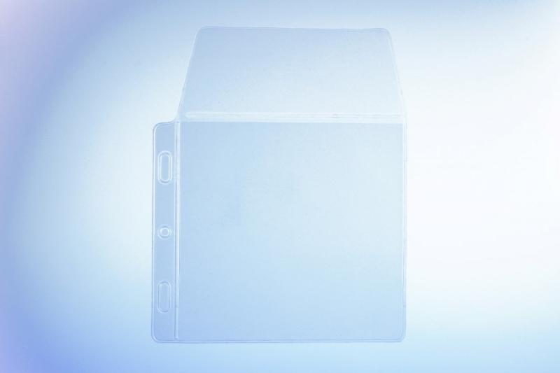 Klarsichttasche für 1 Disc - mit seitlichem Abheftrand... - Klarsichttaschen für CD/DVD/Bluray