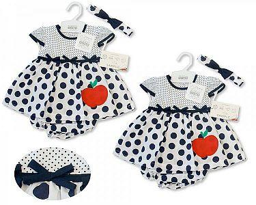 Baby Dress- Apple -
