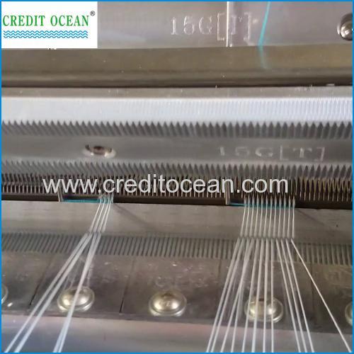 High speed elastic crochet machine - Crochet Machines