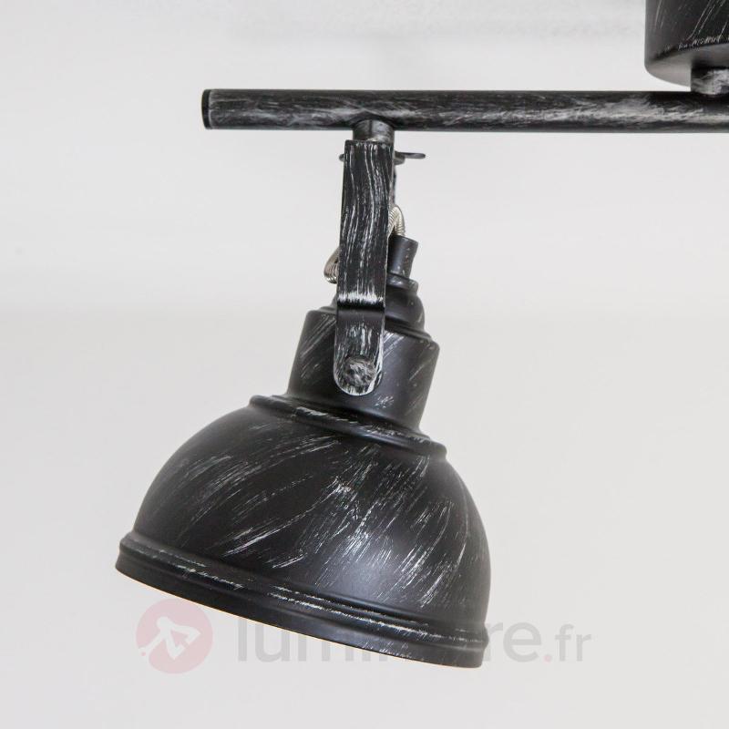 Plafonnier à deux lampes Etienne - Plafonniers rustiques