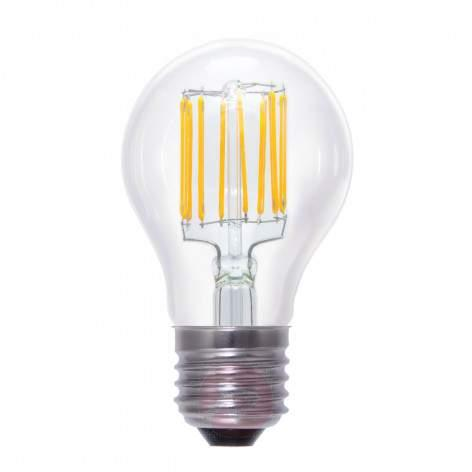 E27 6W 926 globe lamp G125 clear - light-bulbs