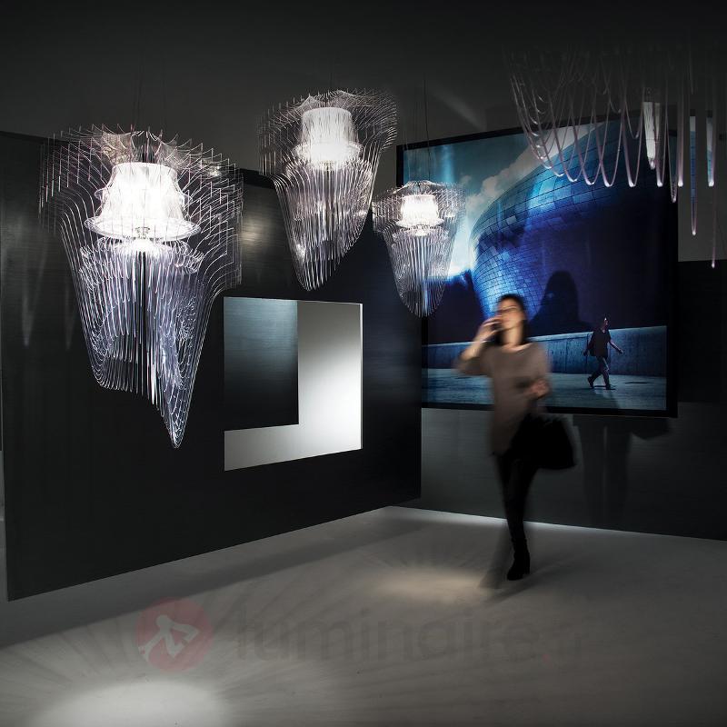 Suspension LED design transparente Aria, 75 cm - Suspensions design